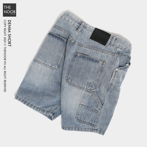 Pull & Bear - Quần Short Denim - 2021QS22