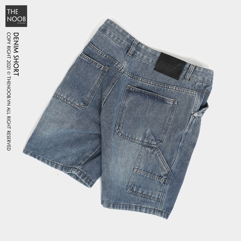 Pull & Bear - Quần Short Denim - 2021QS23