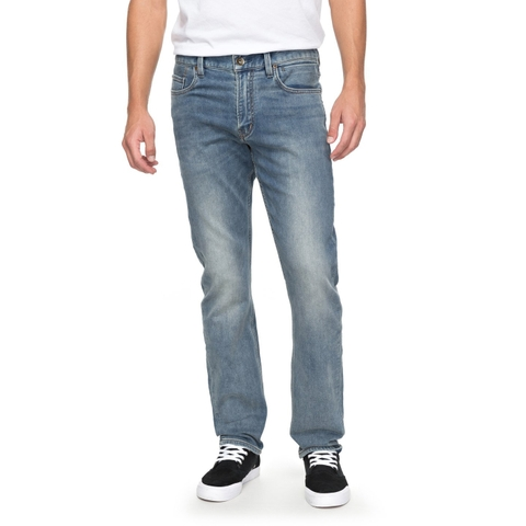 QUICK SILVER - REVOLVER SALTY STONE - STRAIGHT FIT JEAN - 2018QB13