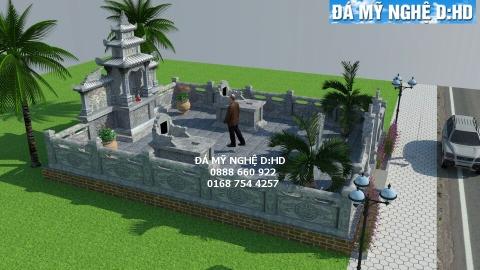 Lăng mộ đá tại Bình Định - Dịch vụ lăng mộ đá đẹp # 1