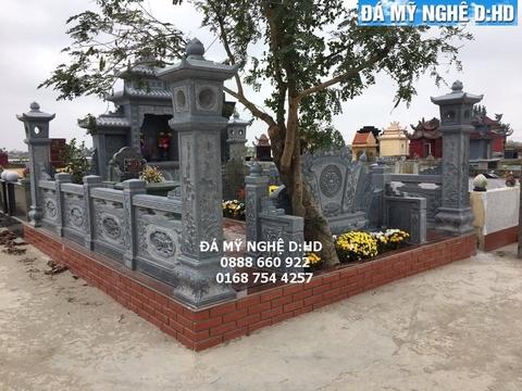 Lăng mộ đá đẹp nhất Hải Dương - Dịch vụ lăng mộ đá đẹp #1
