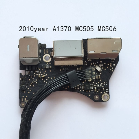 820-3053-A DC I-O Power Audio Board Apple MacBook Air A1370 MC505 MC506 2010 2011