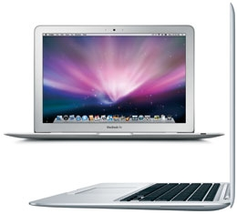 acBook Air Late 2008 - MB940LL/A - MacBookAir2,1 - A1304 - 2253