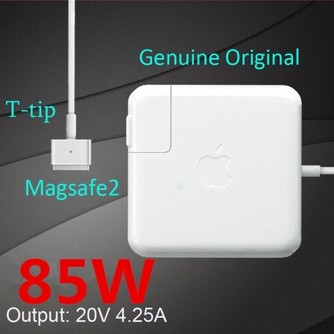 ADAPTER MACBOOK PRO 85W MAGSAFE 2 ORIGINAL NO BOX EARLY 2012 - MID 2015