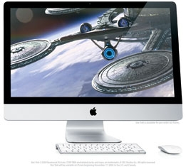 APPLE iMac MB953LL/A 27-Inch CPU I5-750 2.66GHZ / RAM 8GB / VGA RADEON HD 4850 512MB DDR3 / SSD 128GB MÁY LIKE NEW 98%