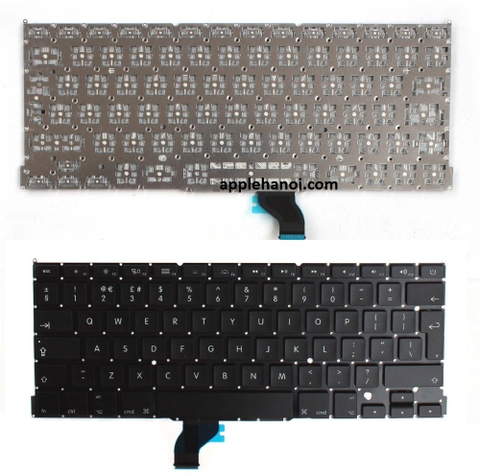 keyboard macbook pro retina A1502 13.3 inch eu uk ge