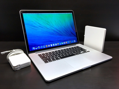 MacBook Pro ME664LL/A Core i7 2.4GHz 15inch Early 2013 / RAM 8GB / SSD 256GB FULL OPTION MỚI 99%