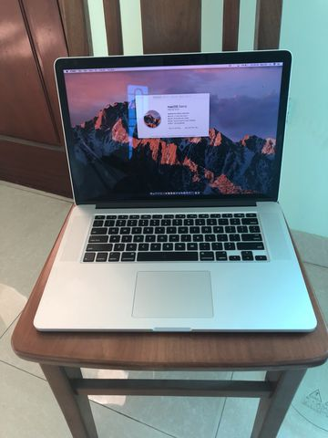 MACBOOK RETINA MID 2012 15INCH I7-3820QM 2.7GHZ RAM 16GB SSD 768GB INTEL HD 4000 1024MB