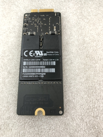 SSD MACBOOK PRO 128GB SD5SL2-128G-1205E 655-1799A