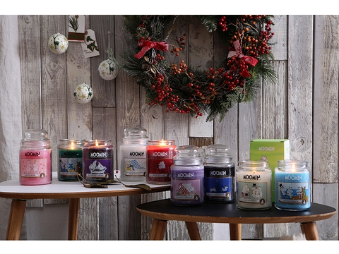 Candles - Moomin Raspberry Dream - CDL-MRD