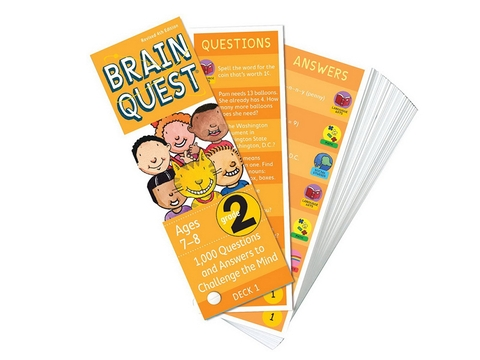 Brain Quest Grade 2 ( Ages 7-8) - BO51195-2