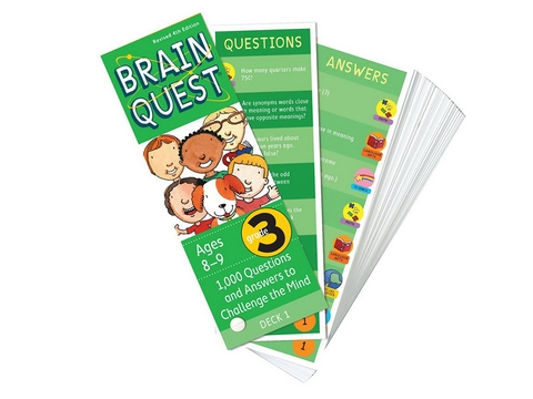 Brain Quest Grade 3 ( Ages 8-9) - BO51195-3