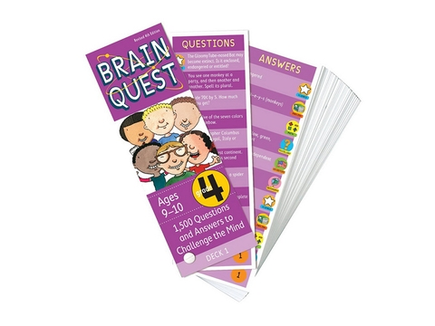 Brain Quest Grade 4 ( Ages 9-10) - BO51195-4