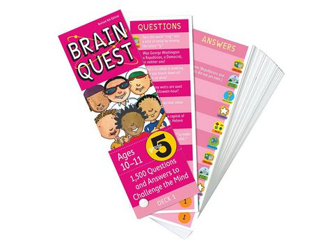 Brain Quest Grade 5 ( Ages 10-11) - BO51195-5
