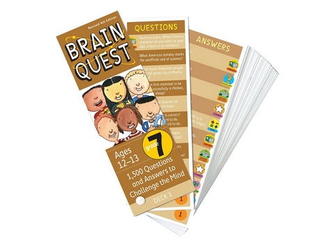 Brain Quest Grade 7 ( Ages 12-13) - BO51195-7