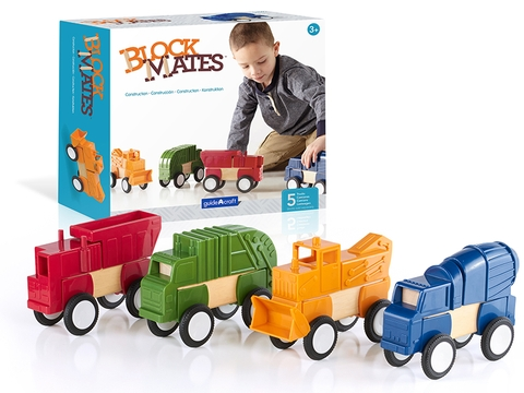Block Mates Construction Vehicles - G7605