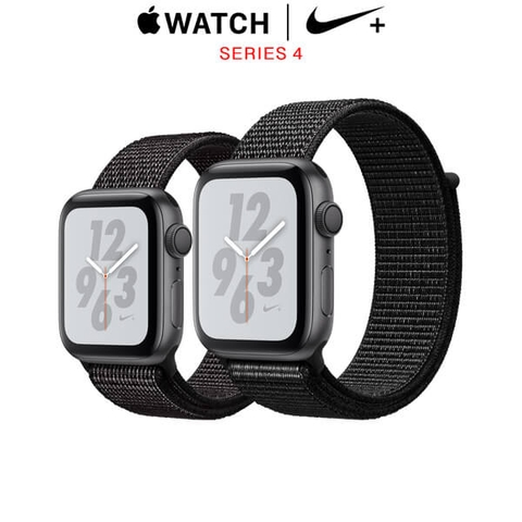 Apple Watch Series 4 Nike+ Space Gray Aluminum Case with Black Nike Sport Loop