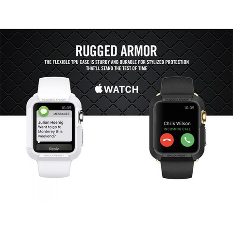 Ốp Bảo Vệ Apple Watch Series 3/2/1 (42mm) Rugged Armor