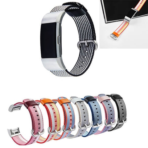 Dây Woven Nylon Fitbit Charge 2 - Luxury Fashion