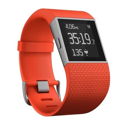 Fitbit Surge Fitness Superwatch - Tangerine