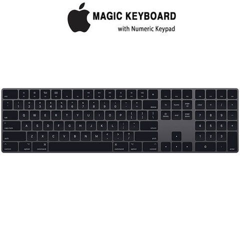 Apple Magic Keyboard with Numeric Keypad - US English - Space Gray
