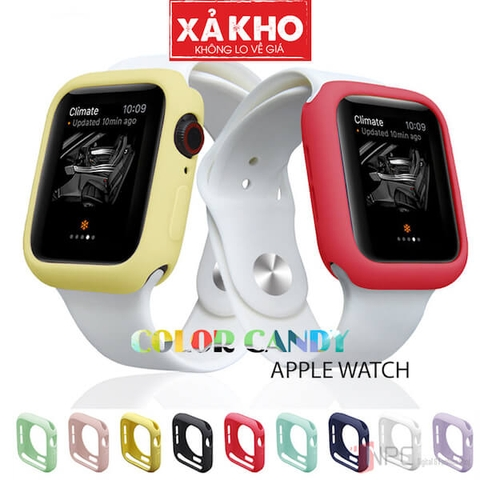 Ốp Bảo Vệ Apple Watch Color Candy Series 5|4|3|2|1 38mm 42mm 40mm 44mm