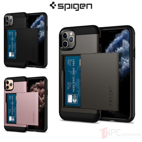 Ốp iPhone 11 Pro Spigen Slim Armor CS