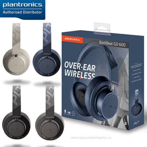 Plantronics BackBeat Go 600 Noise Cancelling Bluetooth Headphones