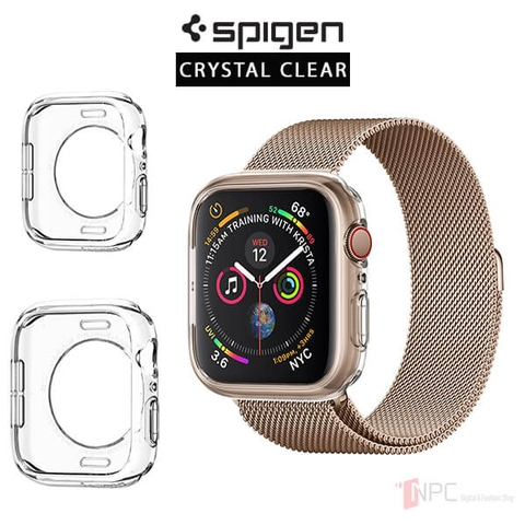 Ốp Apple Watch Series 5 / 4 (40mm | 44mm) Spigen Liquid Crystal