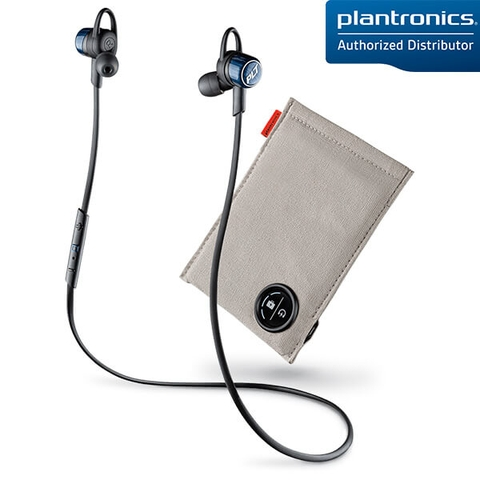 Tai Nghe Bluetooth Plantronics BackBeat Go 3 (Cobalt Black) + Charging Case
