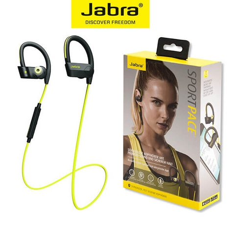 Tai Nghe Bluetooth Thể Thao Jabra Sport Pace - Yellow