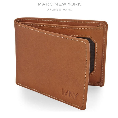 Ví Da Nam MARC NEW YORK Slimfold Leather