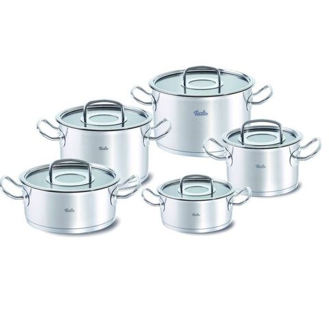 Bộ nồi inox 18/10 Fissler Profi Collection 5 nồi made in Germany