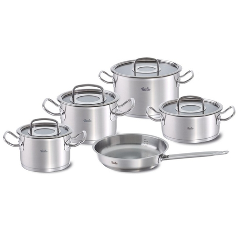 Bộ nồi inox 18/10 Fissler Profi Collection 4 nồi 1 chảo made in Germany