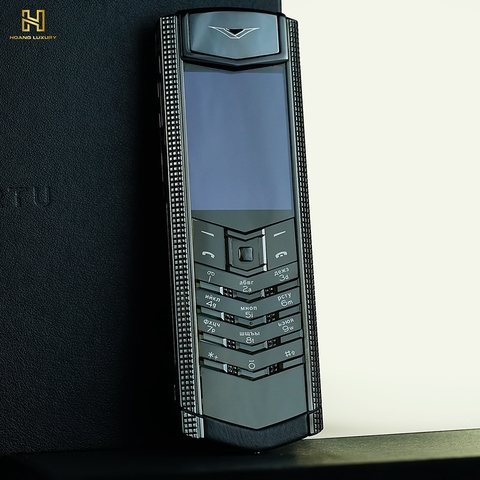 VERTU SIGNATURE S CLOUS DE PARIS BLACK