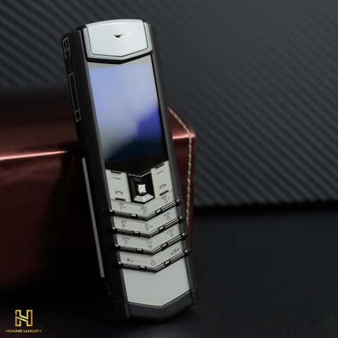 VERTU SIGNATURE S BLACK AND WHITE DIAMONDS