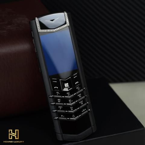VERTU SIGNATURE S PURE BLACK MIX DIAMOND