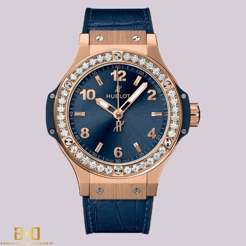 Đồng Hồ Hublot BigBang Gold Blue Diamonds 41mm