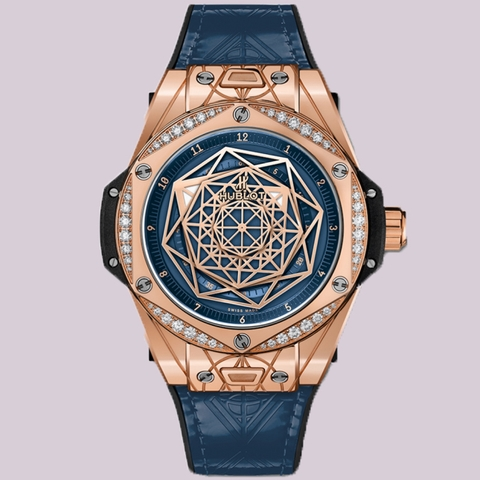 Hublot BigBang One Click Sang Bleu King Gold Blue