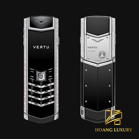 Vertu cũ Signature S WHITE GOLD BLACK DIAMONDS