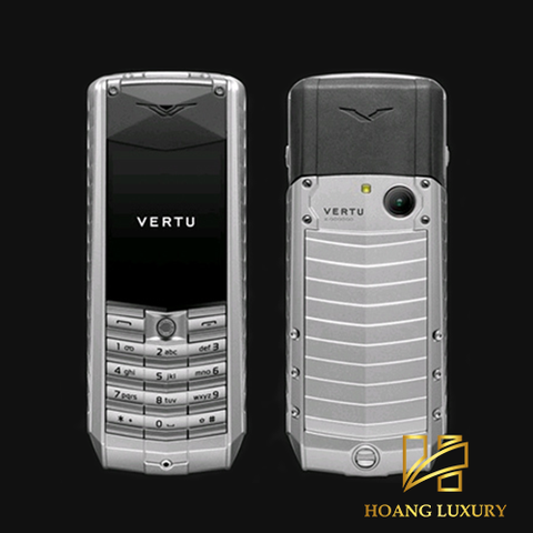 Vertu Acsent new Aluminium brown leather