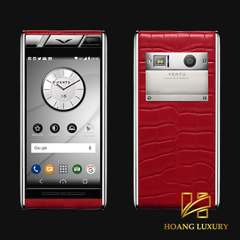 Vertu Aster Diamonds Red Alligator mới 100%