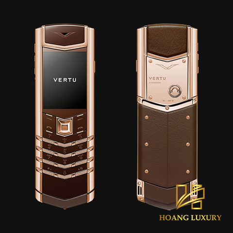 Vertu signature cũ ROSE GOLD CHOCOLATE