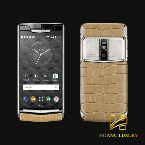 Vertu New Signature Touch Almond Alligator mới 100%