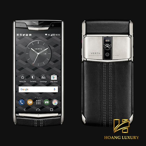 Vertu New Signature Touch Jet Calf mới 100%