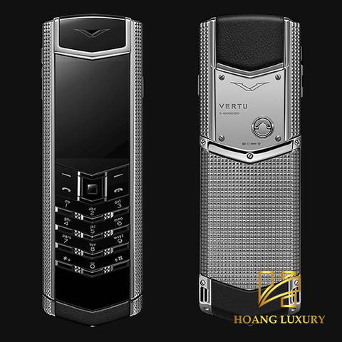 Vertu Signature S Clous De Paris Stainless Steel lướt