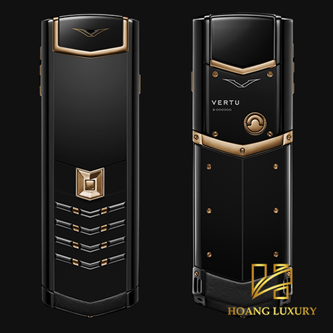 Vertu Signature S Red Gold Ultimate Black siêu lướt
