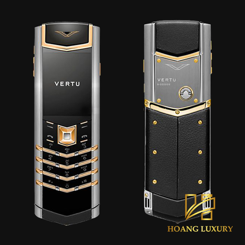 Vertu Signature S Stainless Steel Mix Gold