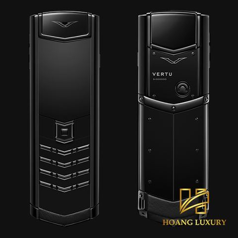 Vertu Signature S Ultimate Black like new