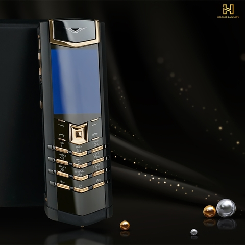 VERTU SIGNATURE S PURE BLACK MIX GOLD
